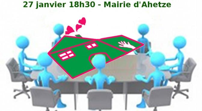 Assemblée Générale 27 janvier 18h30